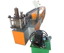 82mm roll up shutter door forming machine