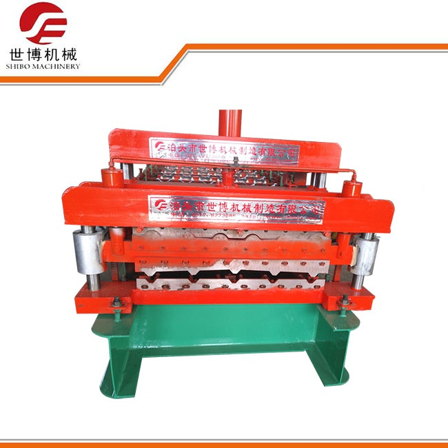 made in china ibr steel eps panel roof double glazed tile roll forming machine